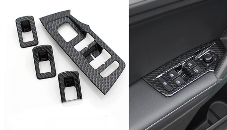 Fensterheber Rahmen Blende Passend Für VW Tiguan 2 AD1 SUV TDI TSI ...