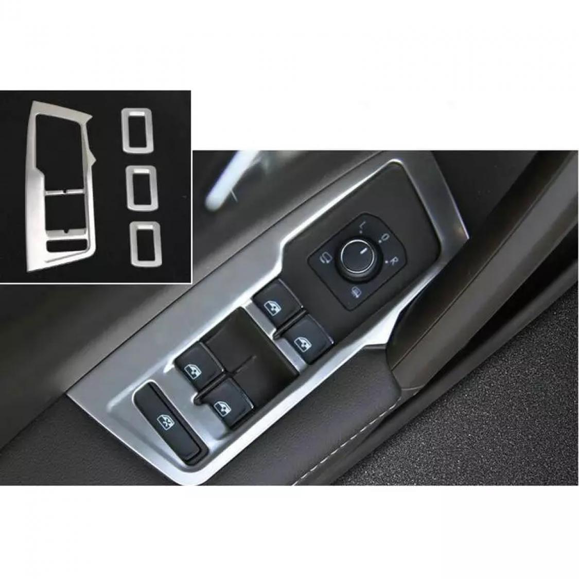 FFZ Parts Mittelkonsole Becherhalter Blende Rahmen Abdeckung Passend F/ür Tiguan 2 AD1